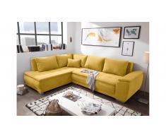 JUSTyou Downey Sofa esquinero Amarillo