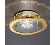 Orion Lámpara empotrada halógena UTA, oro azul