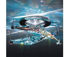 Swarovski Melody: lámpara empotrable de techo con cristal