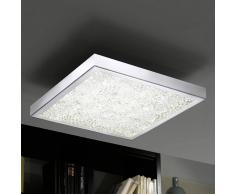 Eglo Lámpara de techo LED, cristal LED RGB Cardito 47