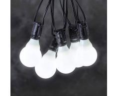 Konstmide Cadena luces cerv. ext. sist. 24V LED E10 blanco
