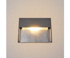 Lampenwelt.com Lámpara empotrada pared LED Nandita, luz indirecta