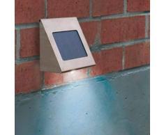 Esotec Reflector solar LED de pared Shine en acero inox.