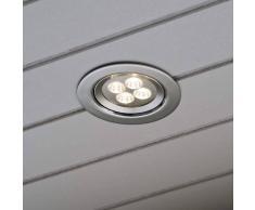 Konstmide Lámpara empotrada de techo con LED de encendido