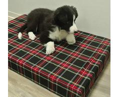 Baldiflex - Cama para Perro Berny con Espuma viscoelástica de 5 cm de Altura, 115 x 70 x 5 cm, 3 + 2 cm
