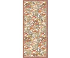 Vilber Saphira DU 06 78X180 Alfombra, Vinilo, Marron, 78 x 180 x 0.22 cm