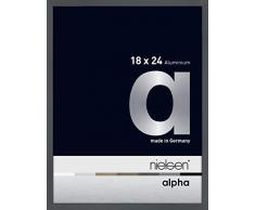 NIELSEN Marco de Fotos Alpha, Aluminio, 24 x 18 x 5 cm