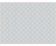 VINILIKO, Alfombra de vinilo, Jalousie, Azul, 100x133 cm
