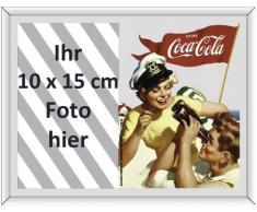 Empire 541901 - Espejo con impresión y Marco de Fotos (22,8 x 17,8 cm), diseño de Coca-Cola
