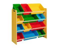 Industrias Aldaya S.L.. Caja de Juguete y de Almacenamiento Muebles, Metal, Multicolor