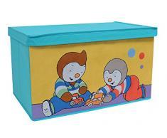 Fun House 712405 T Choupi baúl para Juguetes Plegable intisse 55,5 x 34,5 x 34 cm