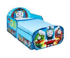 Hello Home Infantil para Niños Pequeños Sofá Cama, Madera, Azul, 142x77x63 cm
