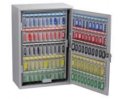 Phoenix KC0605K Gris Caja portallaves y Organizador - Armario para Llaves (Gris, 300 Colgador(es), Llave, 380 x 205 x 550 mm)