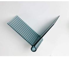 Kartell Kite Shelf Estantería, Azul, 1.373 X 17.5 X 23 cm