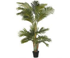 DRW Planta Artificial de una Palmera en Verde 180cm