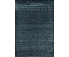 Flora Carpets Modern Cenefa/superverso Alfombra de Corredor, Material sintético, Azul, 300 x 80 x 1.2 cm