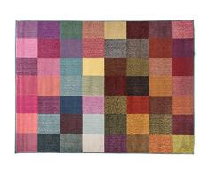 Alfombrista Moderna 11 Alfombra, Acrílico, Multicolor, 160 x 230 cm