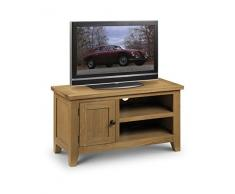 Julian Bowen Light Astoria - Mueble para televisión (Madera de Roble Encerada)