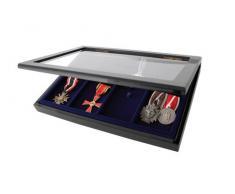 SAFE-ID - Vitrina para exposición de 8 medallas