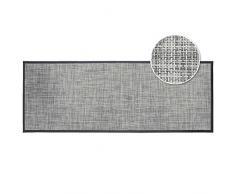 Déco Tapis Alfombra Rectangular (45 x 120 cm) Tisse Verso, PVC, Gris, 40 x 60 cm