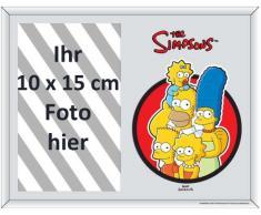 Empire 541987 - Espejo con impresión y marco de fotos (22,8 x 17,8 cm), diseño de Los Simpson