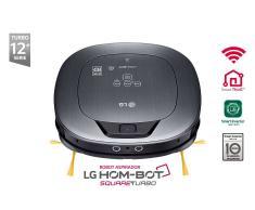LG Aspirador Robot Hombot VR9647PS Turbo Plata metalizada