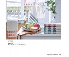 BOMDIA CLASSIC® 4 Paños de cocina rizo 50x50 cm - Trapos cocina diseño frutas (KT 140)