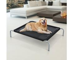 PawHut ® Cama Perro para Viajar Cama Elevada para Mascota 89x58x20cm