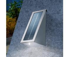 Esotec Reflector solar de pared acero inox. LED Effect