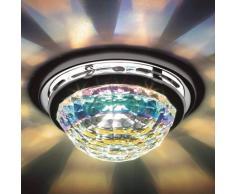 Swarovski Vega: lámpara empotrable de techo con cristal
