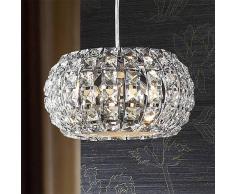 Schuller Lámpara colgante de cristal DIAMOND, redonda