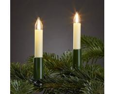 Hellum Cadena de luces interior, 20 velas filamentos LED