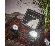 Esotec Juego de focos solares Quattro Power