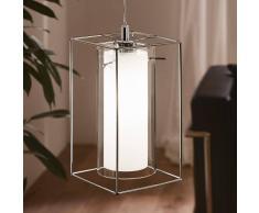 Eglo Lámpara colgante moderna Loncino de cristal