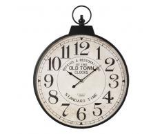Maisons du Monde Reloj de bolsillo de metal Diám. 60 cm VINTAGE