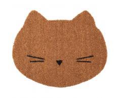Maisons du Monde Felpudo de gato de fibra de coco 38x45