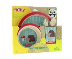 Nuby Vajilla Infantil 5 Piezas +6 Meses Erizo