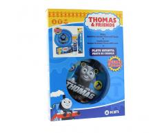 Pack Thomas & Friends Pasta Dental 50ml + Cepillo Dental + REGALO Plato Infantil