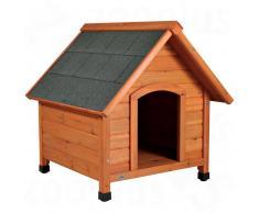 Trixie Natura Caseta de madera para perros - M: 77 x 88 x 82 cm (L x An x Al)