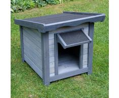 zooplus Exclusive Caseta de madera Sylvan Basic para perros - S: 56 x 76 x 68 cm (L x An x Al)