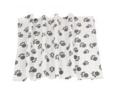 zooplus Exclusive Manta de forro polar Pawty para mascotas - 100 x 70 cm (L x An)