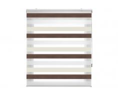 Estor Noche y Dia traslúcido tricolor de 100x180 cm 55694