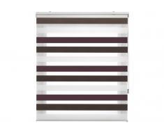 Estor Noche y Dia traslúcido tricolor de 120x180 cm 55700