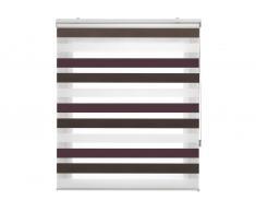 Estor Noche y Dia traslúcido tricolor de 100x180 cm 55699