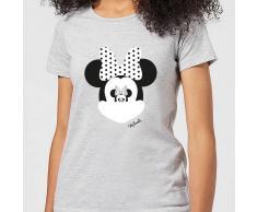 Disney Camiseta Disney Mickey Mouse Minnie Ilusión Espejo - Mujer - Gris - 3XL - Gris