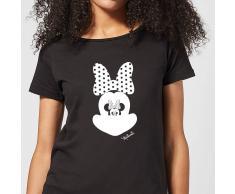 Disney Camiseta Disney Mickey Mouse Minnie Ilusión Espejo - Mujer - Negro - 3XL - Negro