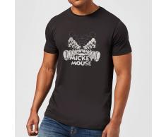 Disney Camiseta Disney Mickey Mouse Efecto Espejo - Hombre - Negro - L - Negro
