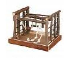 Trixie Juguete de madera Natural Living para periquitos - 35 x 29 x 25 cm