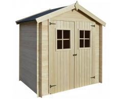 vidaXL Caseta de exterior para el jardín 2x1,5m madera de 19mm