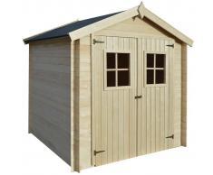 vidaXL Caseta de exterior para el jardín 2x2m madera de 19mm